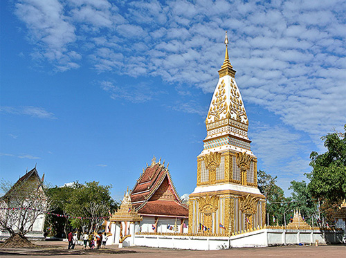 Wat Phabath Temple