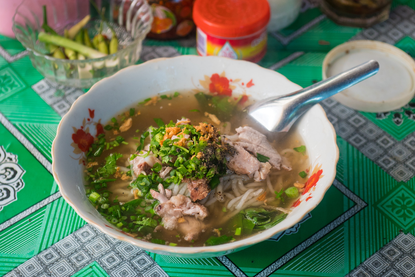 Khao Piak Sen - Laotian Rice Noodles
