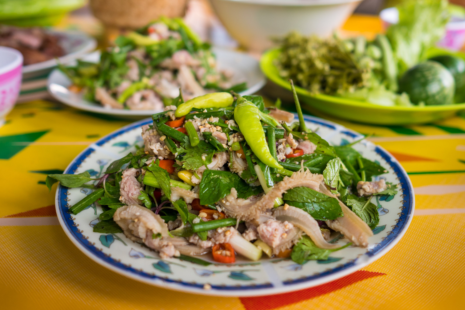 Laap - The National Dish of Laos