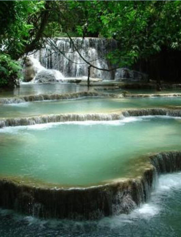 Picturesque Waterfalls