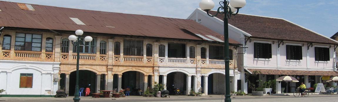 French Colonial Architecture, Savannakhet
