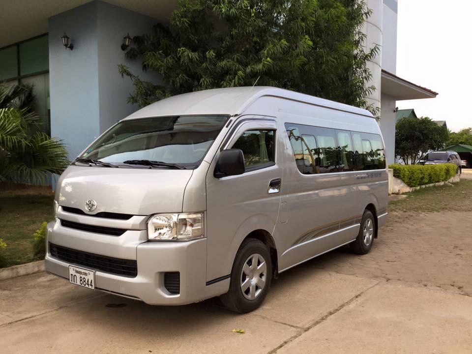Vans and Toyota Vans for Rent